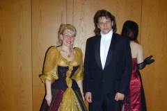 me and Sabine at LGM Ball