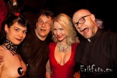 me, Karin, Ancilla and Patrick ...party