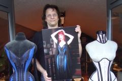 proud in front of my atelier